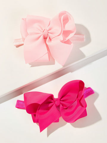 Toddler Girl Bow Tie Decor Headband 2pcs | Amy's Cart Singapore