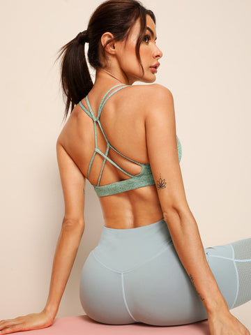 Criss Cross Sports Bra | Amy's Cart Singapore