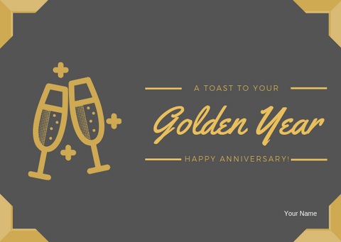 HAPPY ANNIVERSARY - GREETING CARD | Amy's Cart Singapore