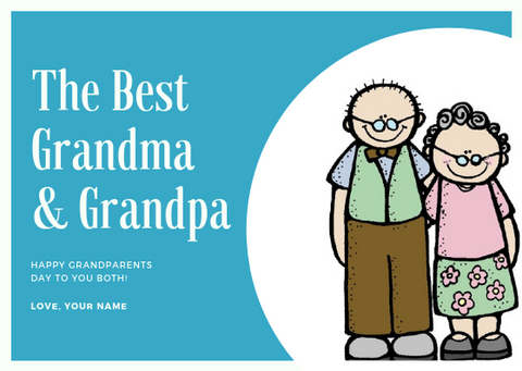 HAPPY GRANDPARENTS DAY - GREETING CARD | Amy's Cart Singapore