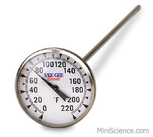 Dial Thermometer (Fahrenheit), Large