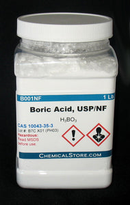 Boric Acid, NF/USP Grade, Powder