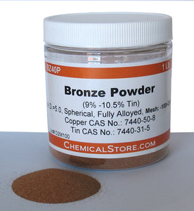 Bronze Powder, Filter Grade 40