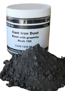 Cast Iron Dust and blend with graphite