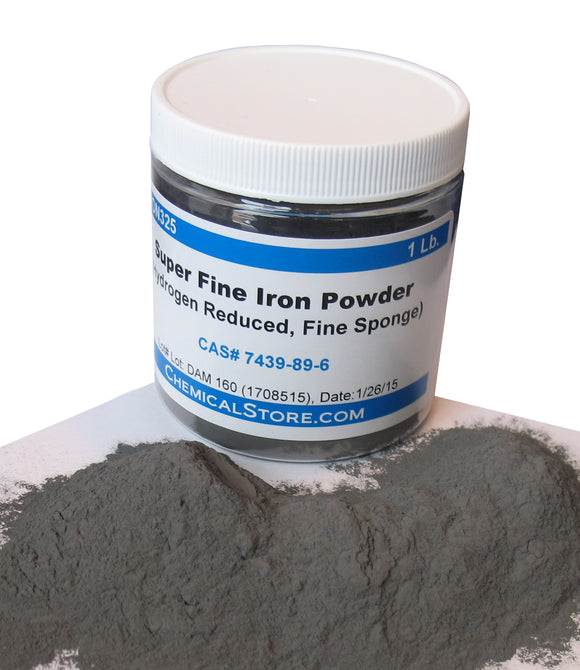 Iron Powder, super fine, mesh 325