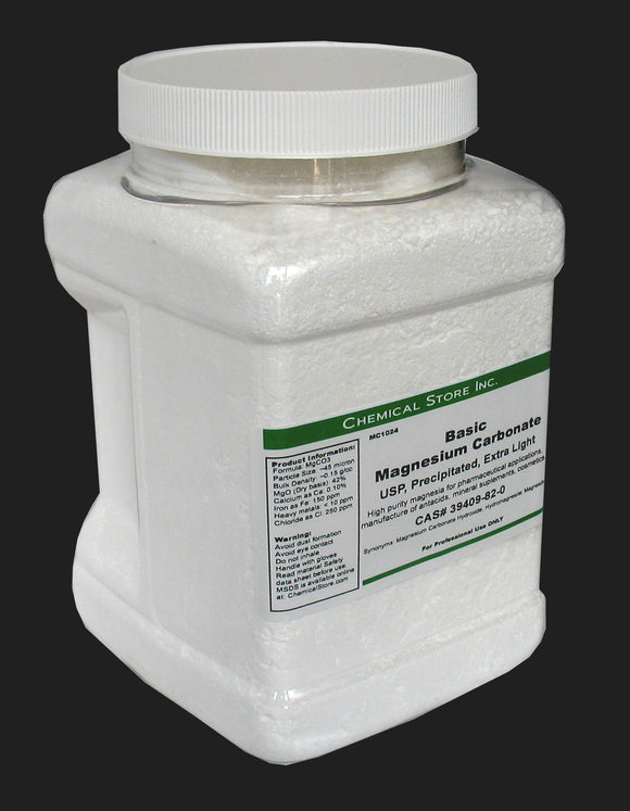 Magnesium Carbonate, Basic, USP,
