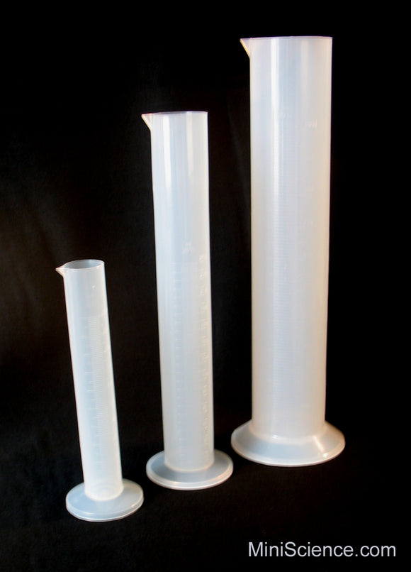 Measuring Cylinder Set (3 Pieces)