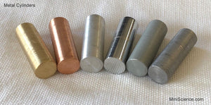Metal Cylinder Set (6 Pieces)