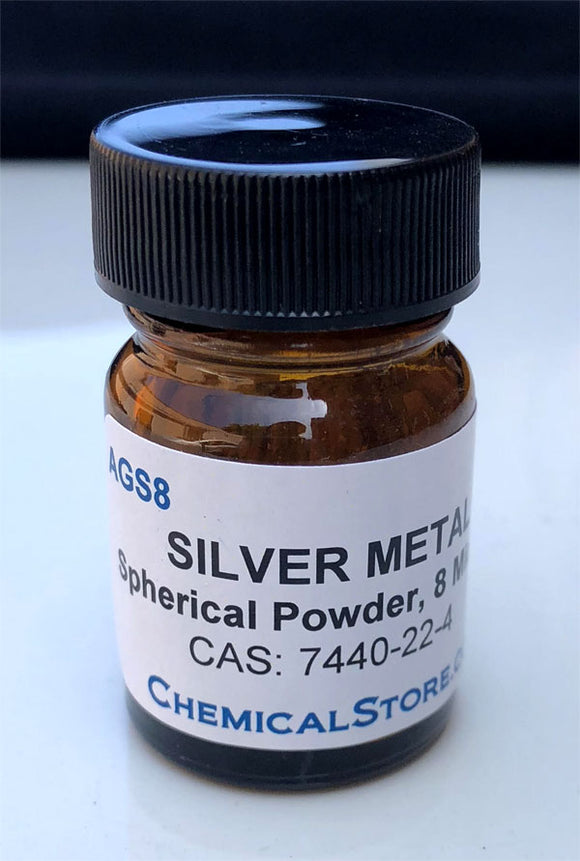 Silver Powder, fine spheres, >99%