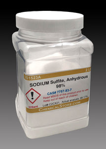 Sodium Sulfite, Anhydrous, 98%