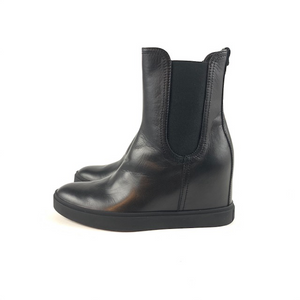 AGL - D253505 (Leather Wedge Bootie)