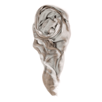 Fig & Belle - Double Knot Scarf (Greige)