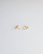 Gem & Blue - Rainbow Stud Earrings