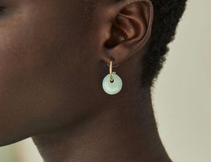 Soko - Kazuri Mini Disc Hoop Earring
