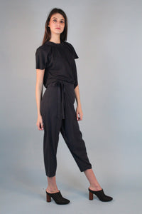 7115 by Szeki - Raw Silk Sarong Pant