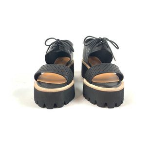 All Black - Perf Flatform Band