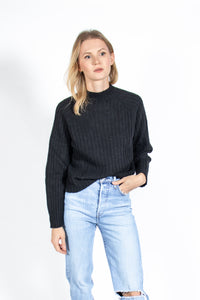 Micaela Greg - Isa Rib Top (black)