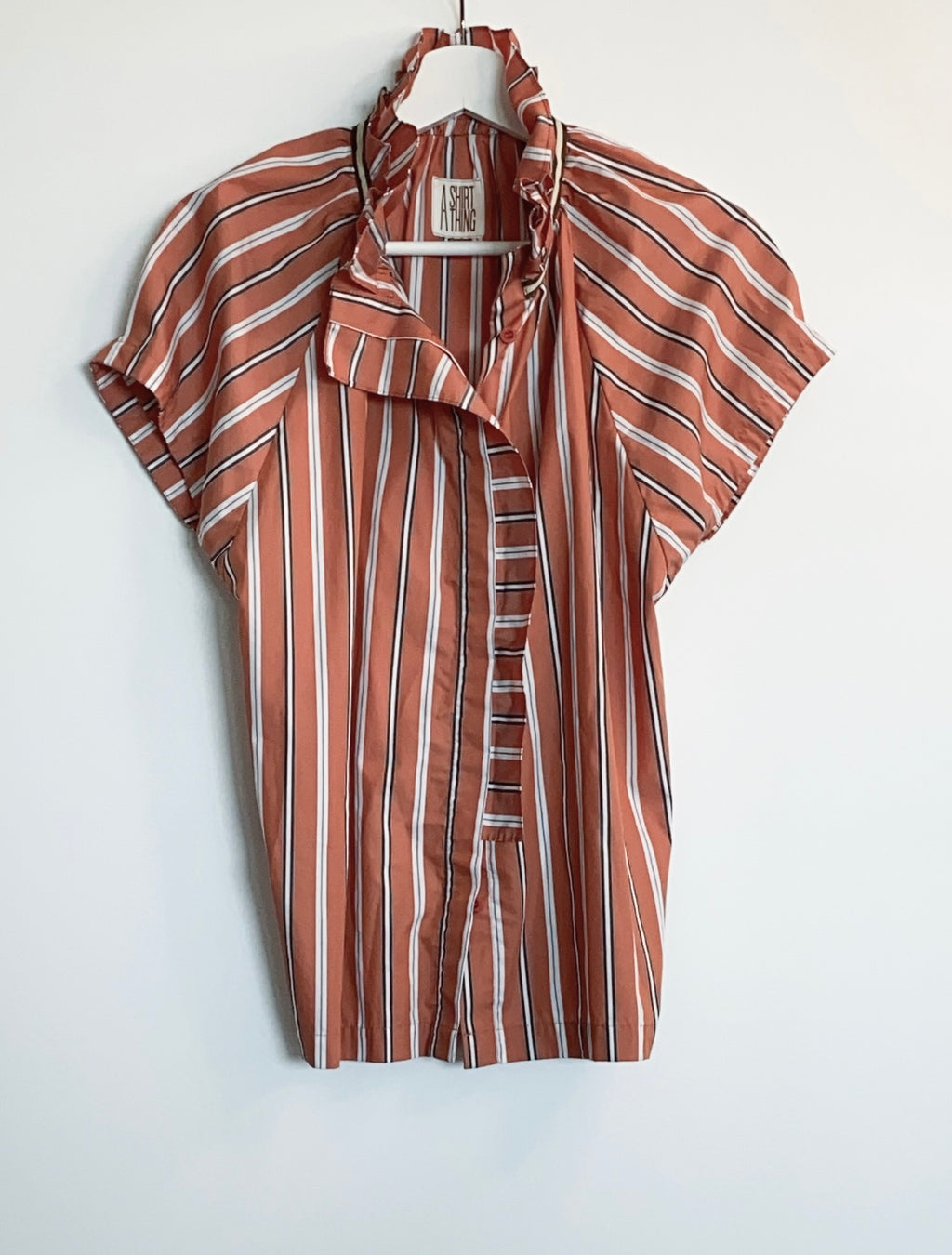 A Shirt Thing - Stella Stripe (Orange)
