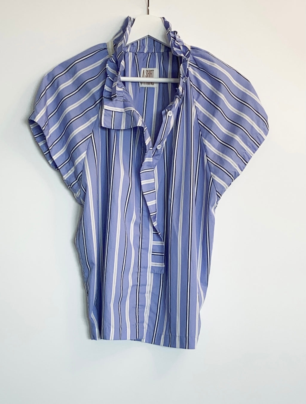A Shirt Thing - Stella Stripe (Blue)