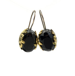 Bora - Onyx Filigree Earrings