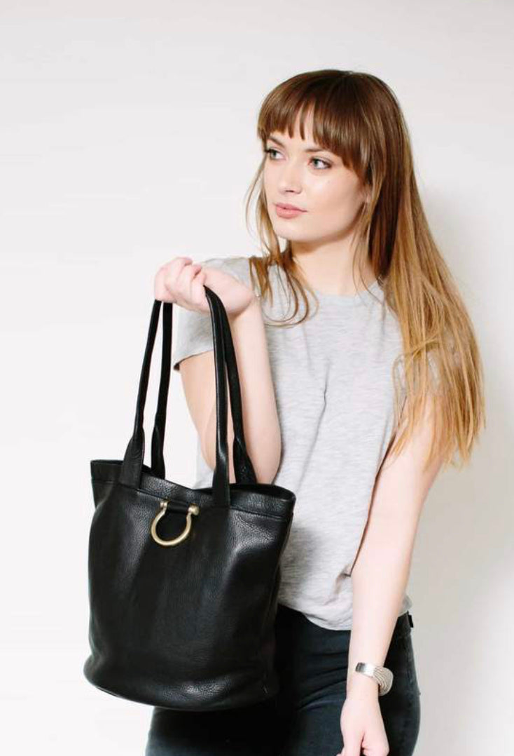 Sapahn - Nettie Leather Shopper Tote