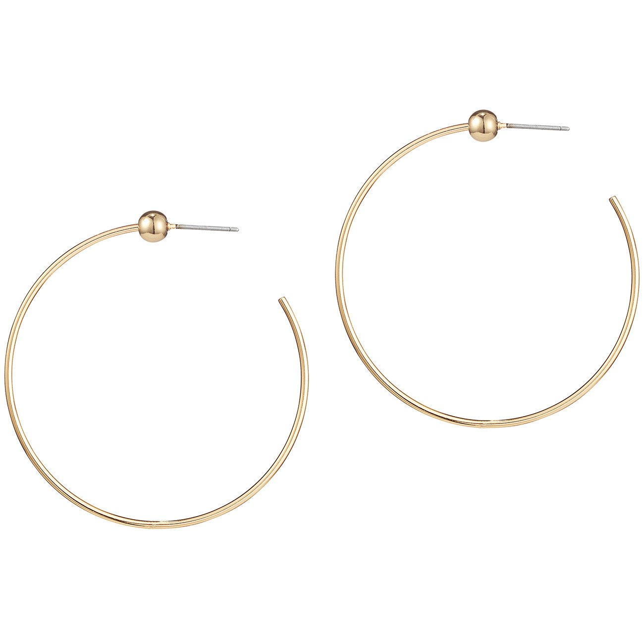 Jenny Bird - Icon Hoops (Gold)