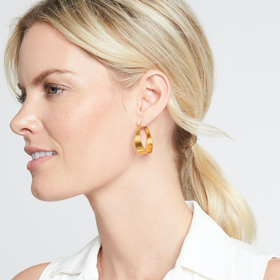 Julie Vos - Poppy Hoops (medium)