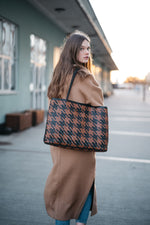 Bembien - Gabrielle (Black/Brown Houndstooth)