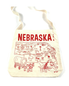 Maptote - Nebraska Canvas Hobo Bag