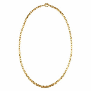 Machete - Nautical Bead Necklace (gold)