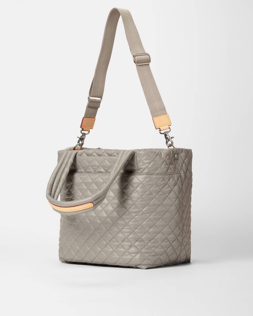 MZ Wallace - Medium Metro Tote Deluxe (Graphite)