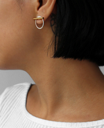 Jenny Bird - Rhye Jacket Earrings (Two-Tone)