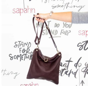 Sapahn - Rin Leather Crossbody