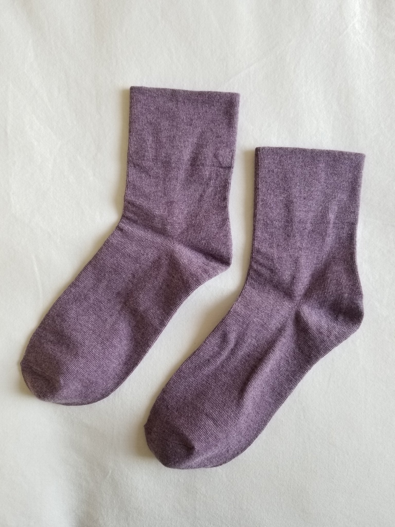 Le Bon Shoppe - Sneaker Socks (purple)