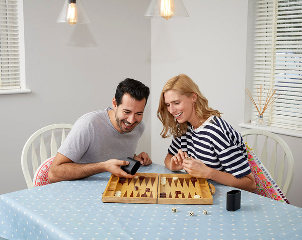 Wooden Backgammon Set