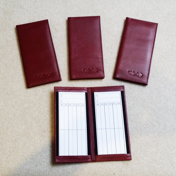 Leather Bridge Scorepad Set