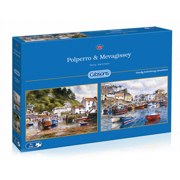Cornish Seasides Double-pack jigsaw
