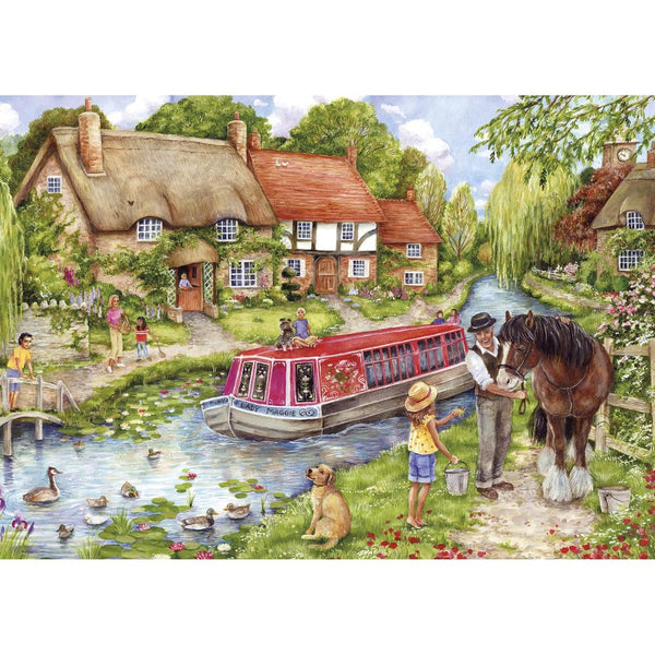 500 Piece Jigsaw Puzzle - Drifting Downstream