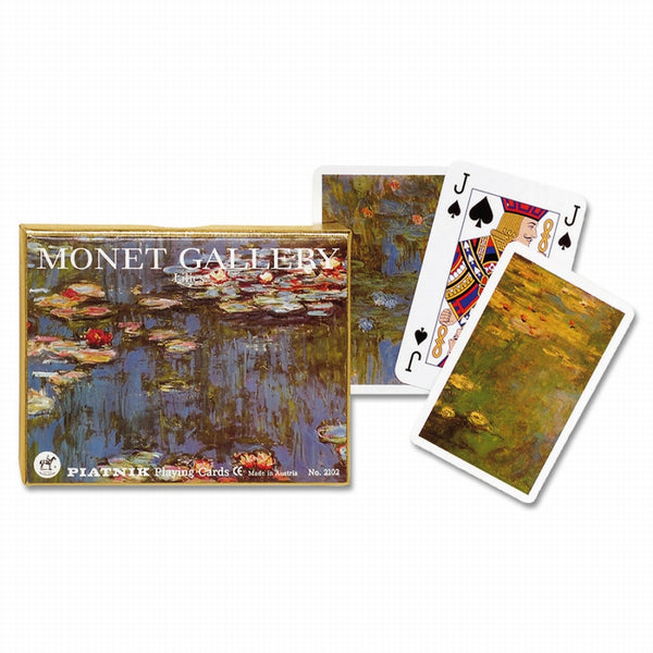 Piatnik Playing Cards - Monet Gallery - Lillies