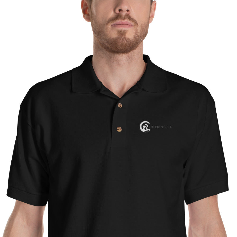 Men's Embroidered Polo Shirt