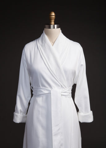 Double Layer Twill Robe