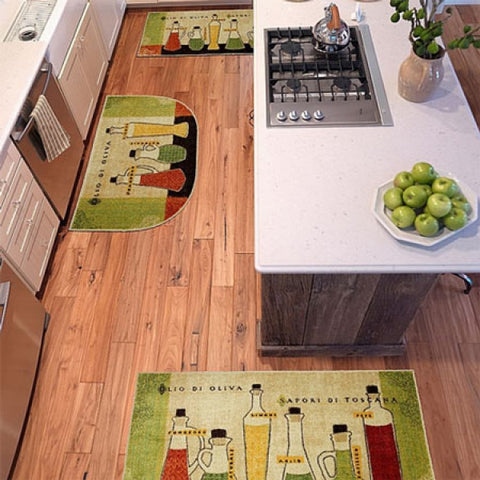 Printed Kitchen Accent Rugs