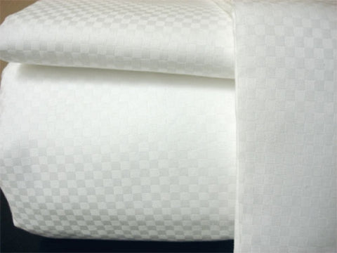 Satin Microcheck Sheets