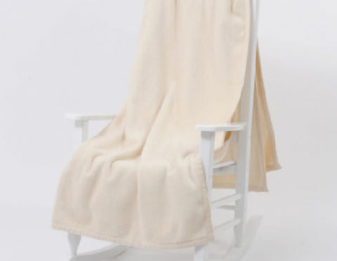 Cashmere Soft Cotton/Acrylic Blanket Throw