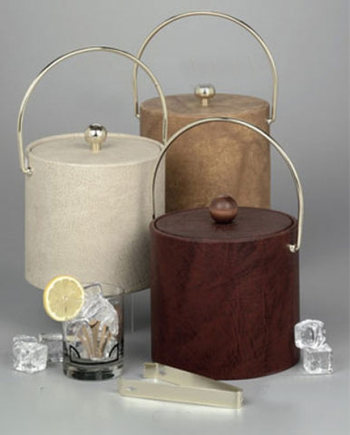 Leatherette Ice Buckets