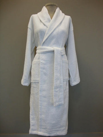 Shawl Collar Terry Bathrobe