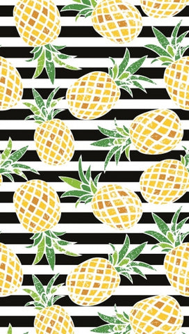 New Pineapples and Stripes Pool Towel