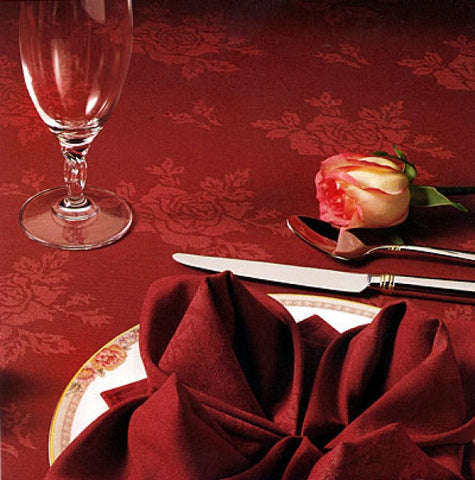 Embassy Rose Tablecloth
