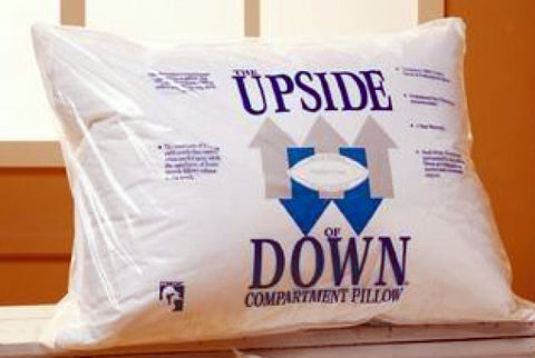 Upside of Down Pillow