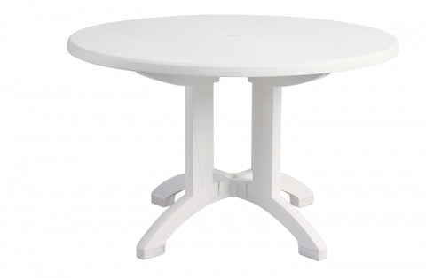 "Aquaba 48"" Round Pedestal Table"